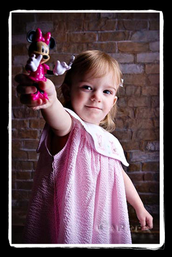 Mackenzie Easter Portrait child madison wisconsin