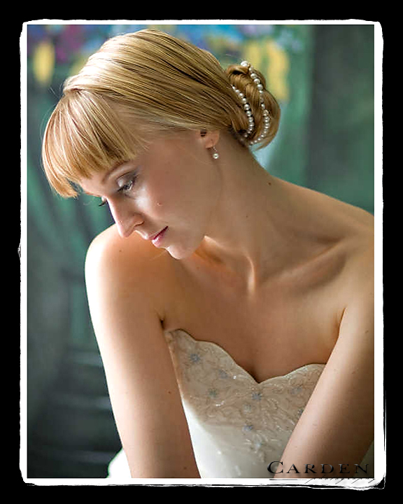 wedding photographer bride bridal portrait at the university of madison wisconsin