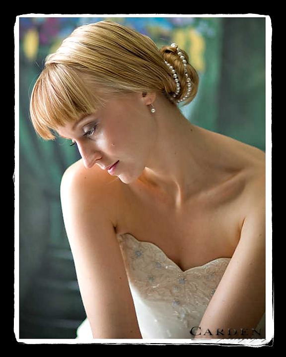 wedding photographer bride bridal portrait at the university of madison wisconsin