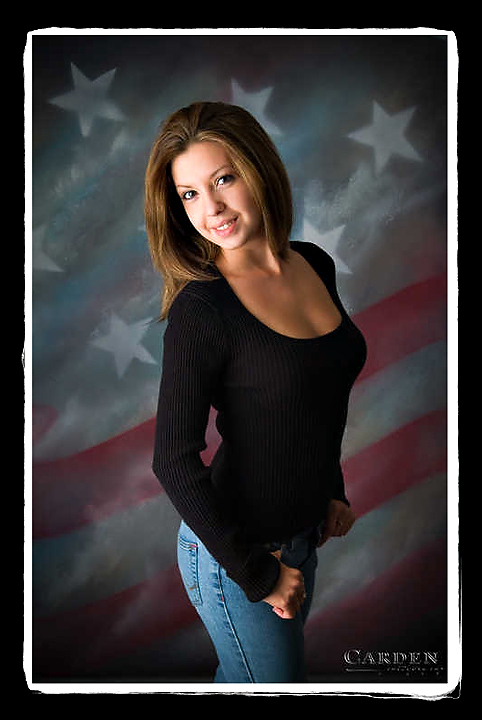 modeling portrait of girl engaged to marine in madison wisconsin
