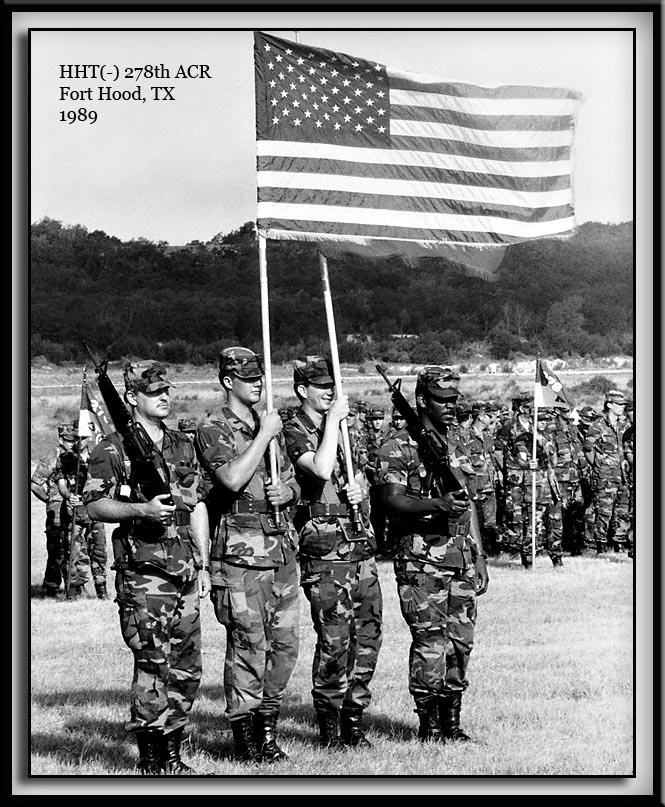 278th ACR Honor Guard