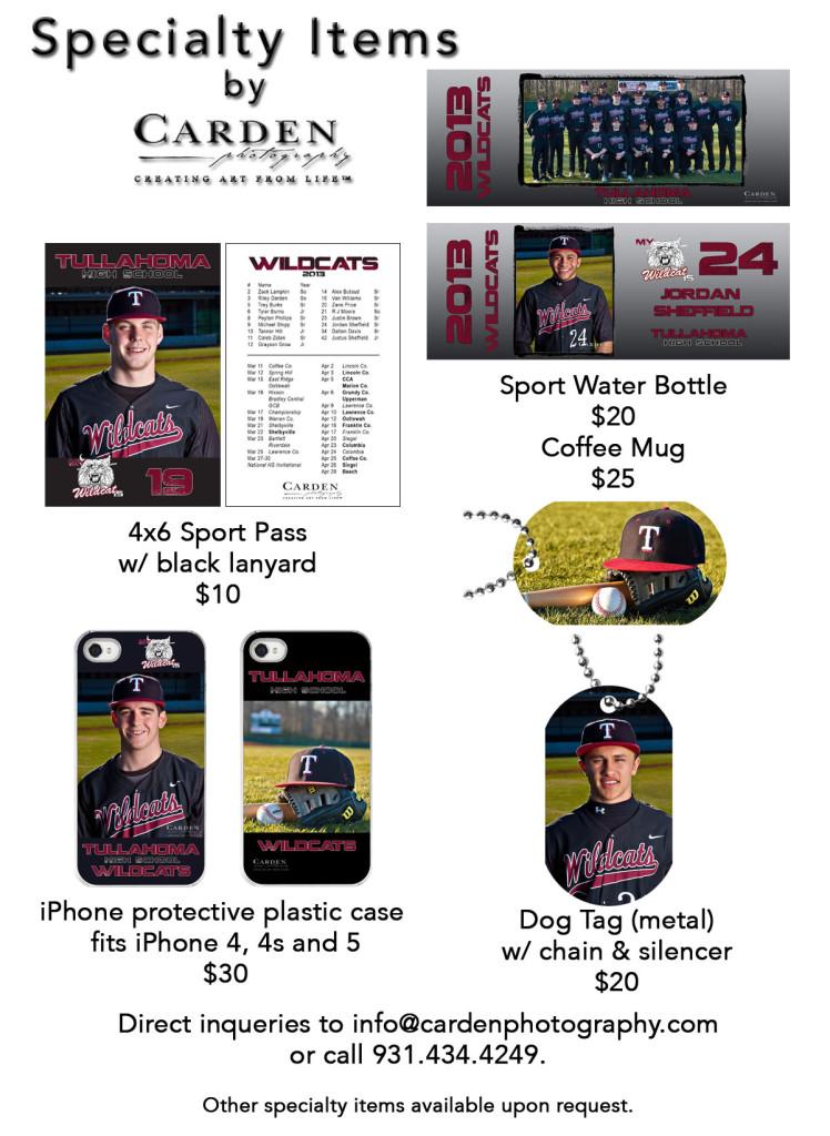 Baseball Promo 4x6